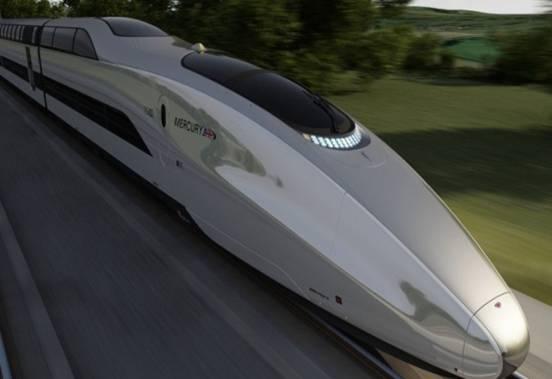 bwin娱乐铝产品应用在高速列车领域