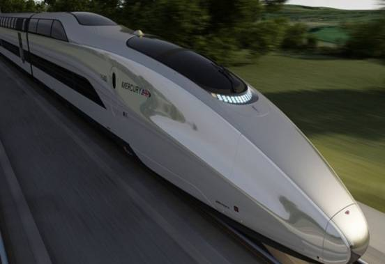 Foam aluminum products used in high speed train field